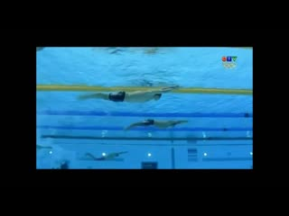 Slow motion underwater phase - michael phelps