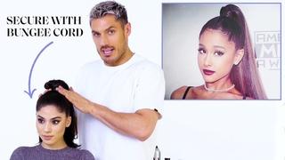 Chris Appleton's Ponytail Masterclass Ariana Grande, Kim Kardashian, and Jennifer Lopez Glamour