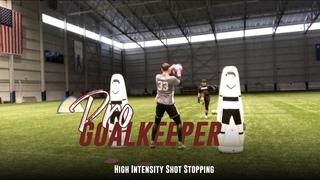 Professional Goalkeeper Training   High Intensity Shot Stopping