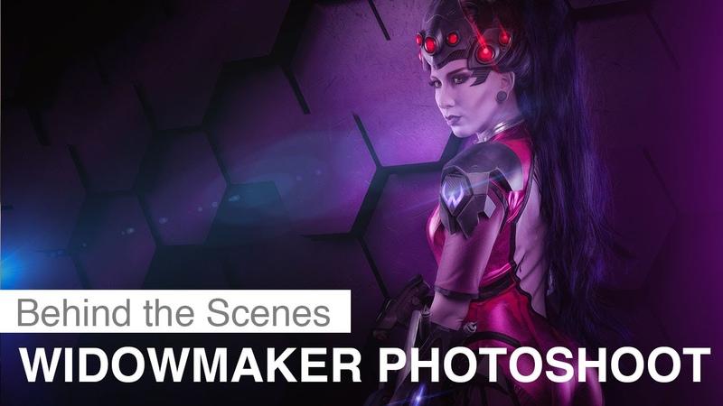 Overwatch Cosplay - Widowmaker Photoshoot