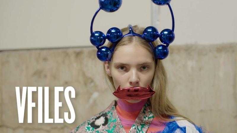 Meet the Designer Making 3D Printed Headpieces Shuting Qiu VFILES
