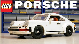 ЛЕГО Creator Expert 10295 Porsche 911 Turbo: подробный обзор 18+ новинки