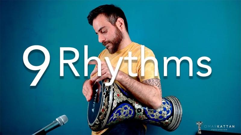 9 Rhythms In One Darbuka Solo Omar Kattan