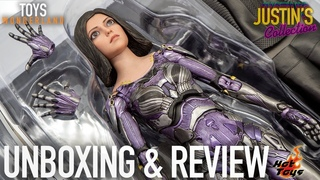 Hot Toys Alita Battle Angel Unboxing & Review
