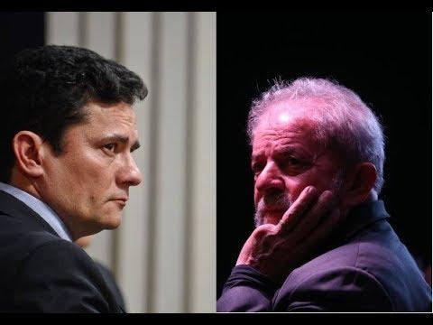 Lula prova que está correto: Moro é exposto ao ridículo ao fugir de repórteres