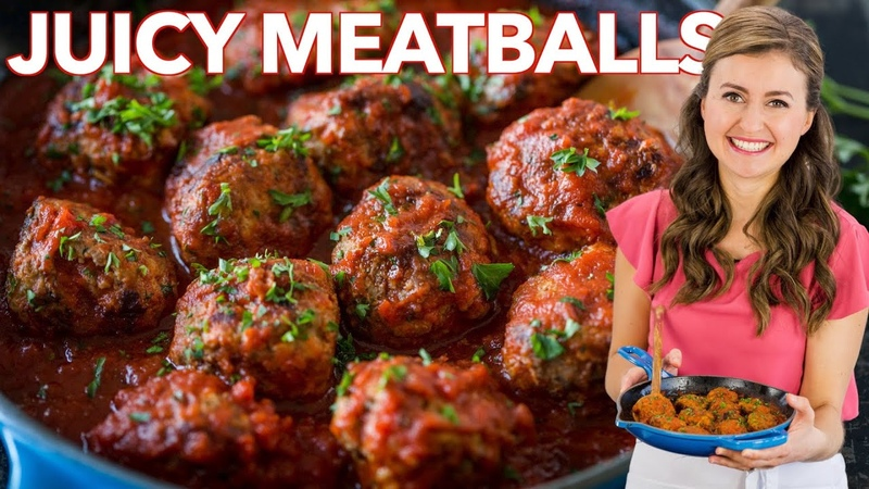 Juicy MEATBALL RECIPE How to Cook Italian Meatballs