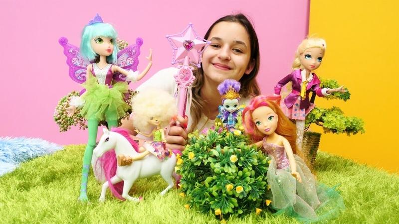 Kız videoları Asu Ela periler ormanına gidiyor Sihirli çocuk oyunları