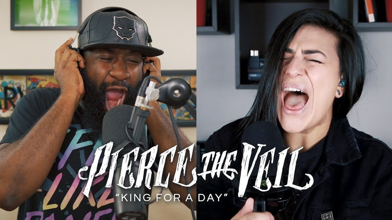PIERCE THE VEIL King For A Day Cover by Lauren Babic Eric July
