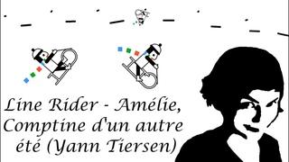 Line Rider #25 - Amélie Theme, Comptine d'un autre été (Yann Tiersen)
