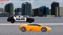 Машинки. Золотой гоночный автомобиль. Полицейская погоня. Мультики для маленьких зрителей