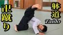 躰道の先生が教える「卍蹴り 」のコツ How to Manji-geri of Taido