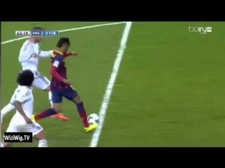 Sergio Ramos Red Card Neymar Clear Fake Dive Execllent Barcelone 23/03/2014 HD