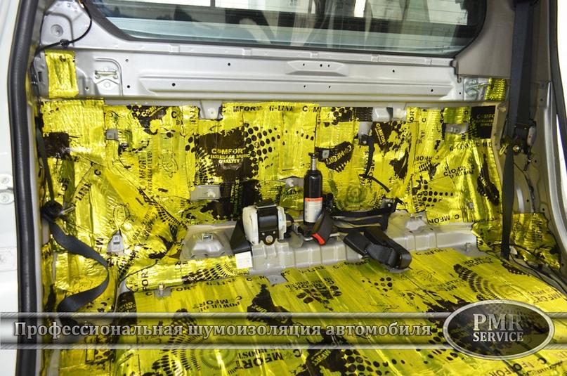 Шумоизоляция Mitsubishi L200, изображение №6