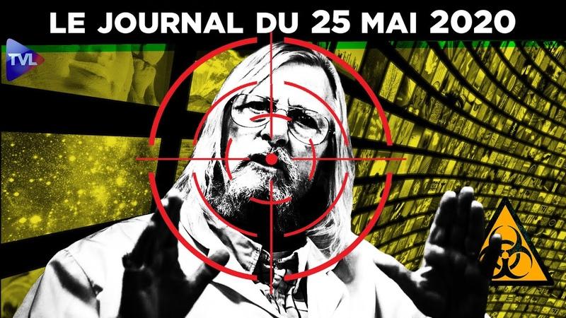 JT - Coronavirus le point dactualité - Journal du lundi 25 mai 2020 avec Loïk Le Floch-Prigent
