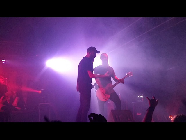 In Flames Save Me @ BMLS Showcenter GDL 10 13 2017