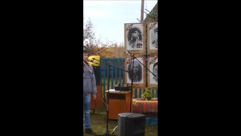Силами жителей с Аделькино Белебеевского района был возведен мемориал Галерея памяти