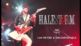 Halestorm - I Am The Fire // Uncomfortable [VR Live From Mohegan Sun]
