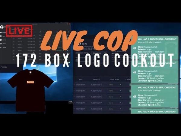 Supreme San Francisco Box Logo Live Cop - 172 Box Logos! W/ F3ather Kodai