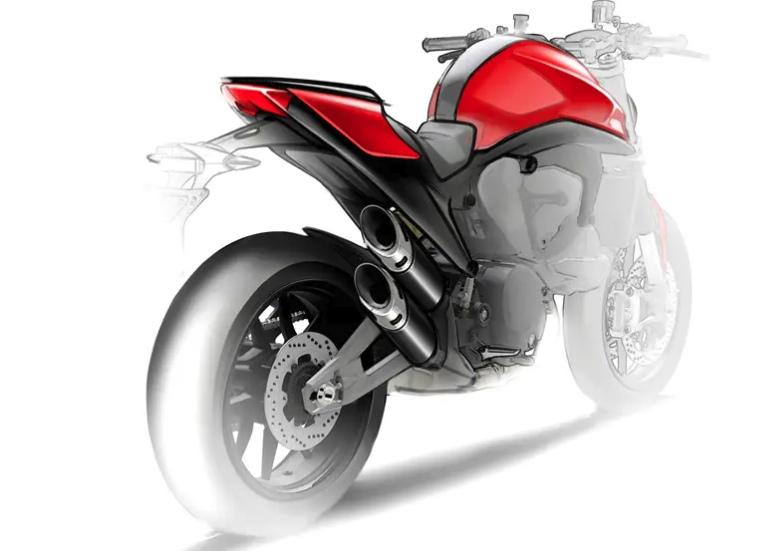 Новый Ducati Monster 821 в разработке