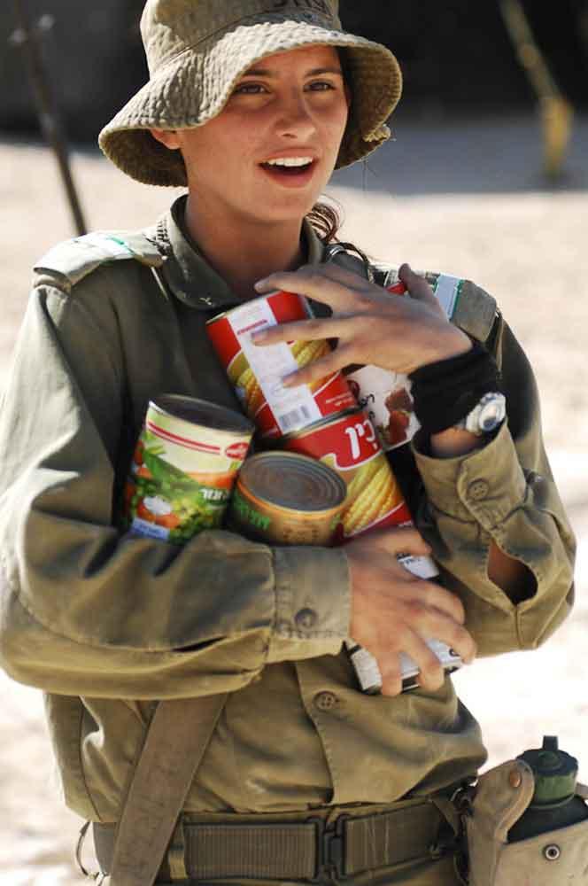 Рацион солдат Израиля
