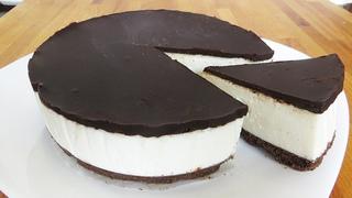 """Ленивый Торт без выпечки """"Творожный"""" - вкусный завтрак для семьи / No bake cheesecake recipe souffle"""
