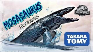 Takara Tomy Jurassic World Mosasaurus Review!!!