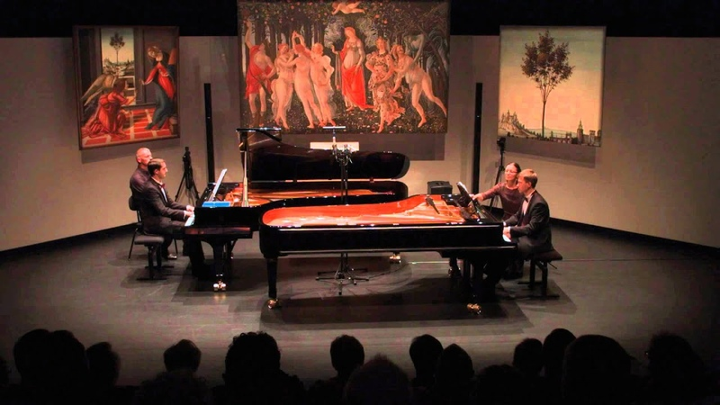 Nikita Mndoyants Vyacheslav play Schubert's Valses