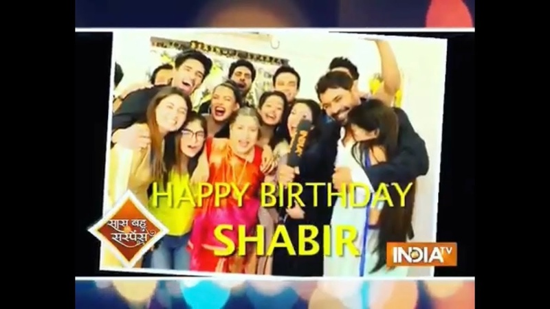 SBAS Shabir Ahluwalia Birthday Celebration with Kumkum Bhagya Cast 10th Aug 2019