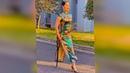 Beautiful Amputee Lady in Dress 8