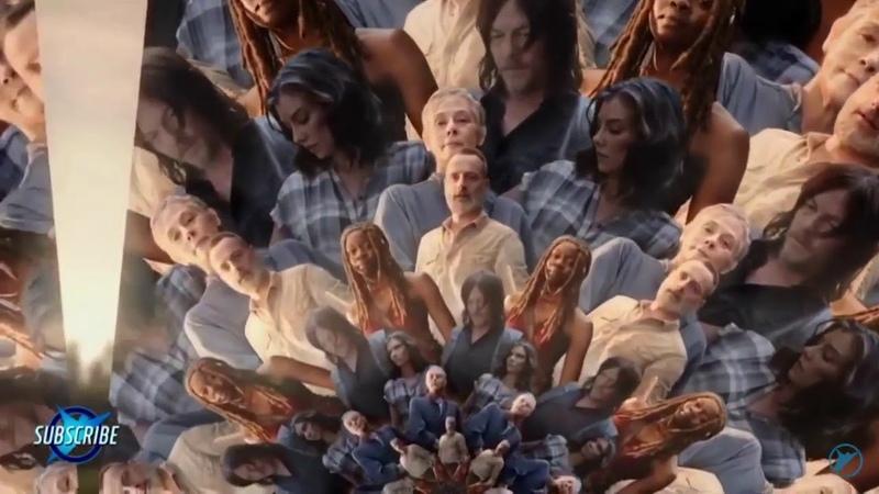 The Walking Dead Season 9 Kaleidoscope it's just Michonne