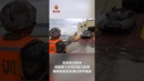 Учения по погрузке механизированной бригады НОАК на гражданский морской ролкер-автовоз