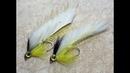 Streamer for Perch and Trout Mylar Tubing Streamer okoniowo Pstrągowy Fly Tying