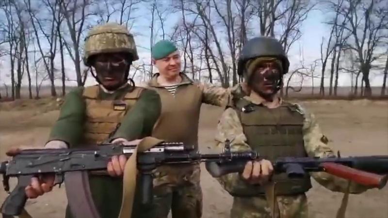 Не ржать Украинские морпехи на полигоне под Херсоном