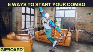 6 Ways to Start your Combo - Giboard