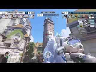 Seominsoo beautifully denies immortality field and gets kill by using Mei wall
