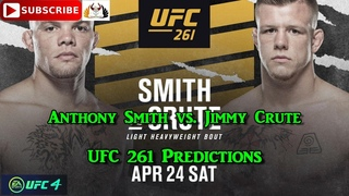 UFC 261 Anthony Smith vs. Jimmy Crute Predictions EA Sports UFC 4