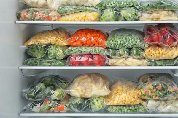 замороженые овощи