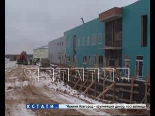 В Ветлуге завершается строительство нового ФОКа