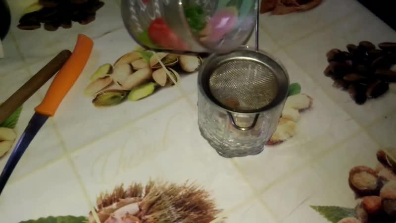 Утренний напиток с соком алоэ
