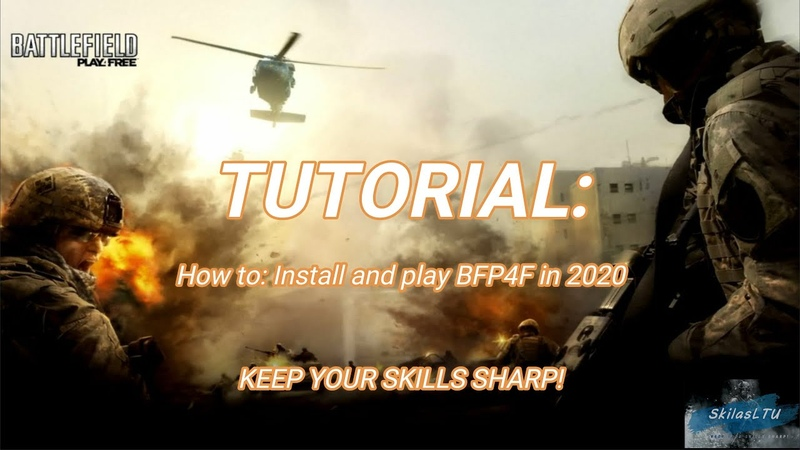 How to Install and play BFP4F in 2020 full tutorial in English