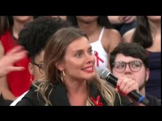 Carolina Dieckmann revela desejo de casar novamente com o marido - Altas Horas 01/12/2018