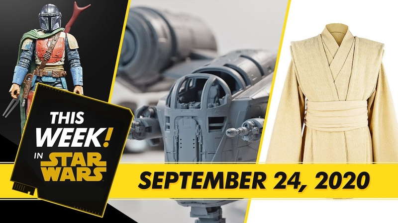 A New Lightsaber from Star Wars The High Republic Building The Mandalorian's Ship and More