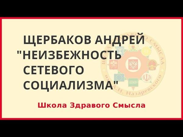 Неизбежность сетевого социализма Щербаков Андрей