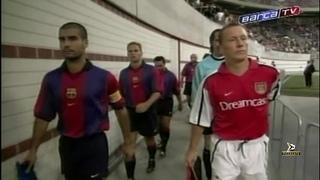 Barcelona v Arsenal - 2000/2001