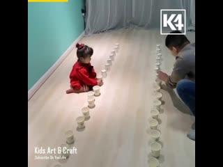 ИГРЫ С ПАПОЙ. Предлогаем папам поиграть дома со своими детьми в простые подвижные игры.