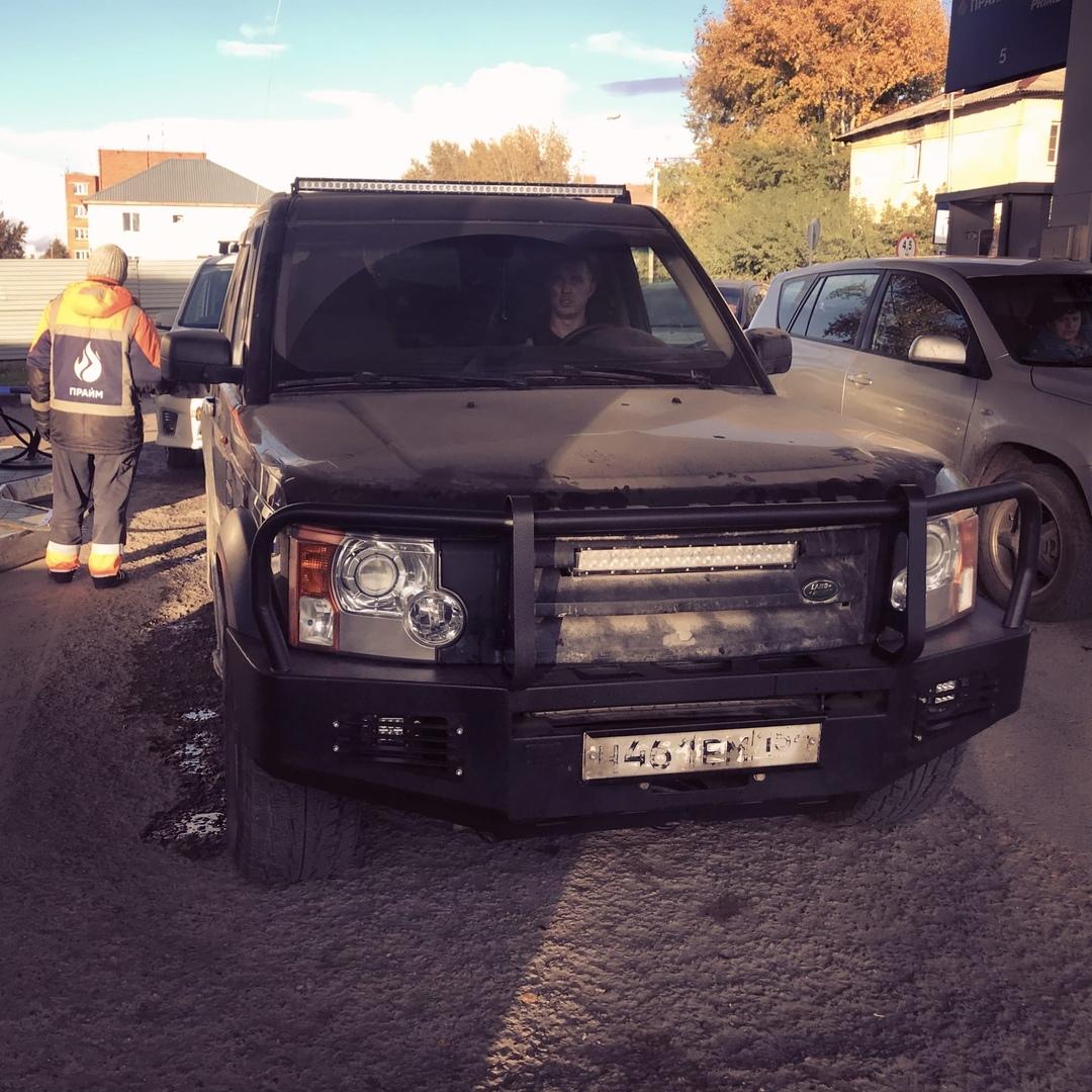 Тест-драйв Land Rover discovery 3, установили двигатель 3uz-Fe