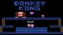 Donkey Kong NES Прохождение Донки Конг против Марио Денди Dendy Walkthrough