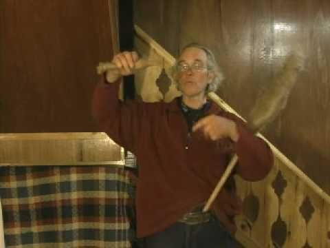 Flax spinning - part 2, the hand spindle
