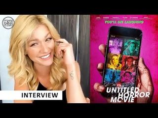 Untiled Horror Movie (UHM) - Katherine McNamara on her new horror film - EXTENDED INTERVIEW