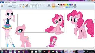 Speedpaint M L P Pinkie Pie